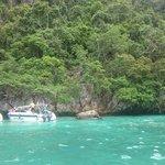 Monkey beach at tide