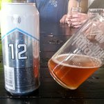 The 12th Can at Hilliard's Beer, our 2nd stop on our tour.