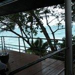 view from Balcony, villa no.4 Hong See