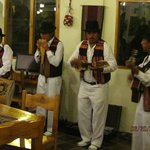 """Andean musicians - """"there were more in the audience"""""""