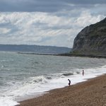 Beach at Seatown-just a few minutes walk