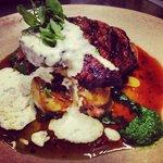 Wagyu rostbiff steak