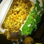 Lasagne du restaurant Italien