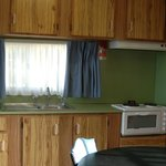 Standard cabins 9 and 10 kitchen