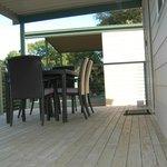 Executive cabin 17 outdoor deck