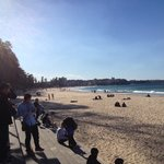 Manly Beach is one of the most famous Sydney beaches