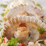 Restaurant Adrovic- Sveti StefanMix shells, oysters,