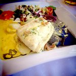 Bacalao con Curry y Salsa de Naranja
