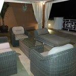 Lounge im Außenbereich