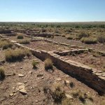 Ruins from Puerco Pueblo in the Petrified Forest National Park