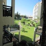 Hôtel côté jardin arrière