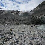 base of the glacier