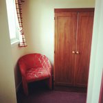 Cupboard/seating off the main room at the Viking Hotel, Blackpool