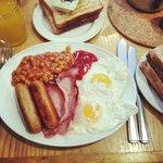 Food at the Viking Hotel, Blackpool
