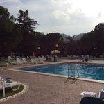 due delle cinque piscine (le altre piscine hanno gli idromassaggi o i trampolini per i tuffi)