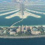 A Palmera e o maior resort de Dubai o famoso Atlantis
