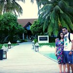 In front of the kurumba resort