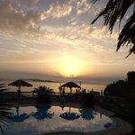 Sunset at Terezas Greek Night