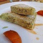 Kürbiskernparfait mit kleinem Kühlkettenschaden - trotzdem sehr gut