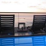 Beautiful blue pool ...