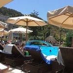 Sheraton Rhodes, la piscine principale