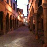 Poppi-La via alla Basilica
