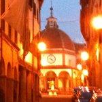 Poppi- La via all'Oratorio della Madonna del Morbo