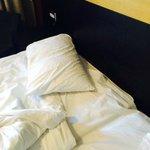 One pillow each...