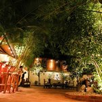 Entrance of Blue Lagoon Restaurant