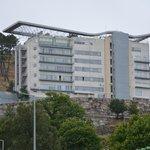 Hotel visto do Continente