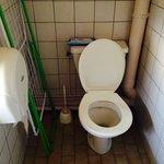 Les toilettes, sans commentaires...