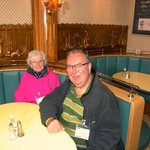 Mum & I in the Oyster Cafe