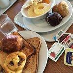 アップグレードした朝食