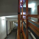 Les couloirs en rampe
