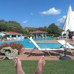 piscina con bar incorporado