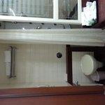 the crampy 2/2bathroom