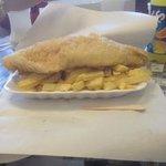 Gluten Free Haddock & Chips