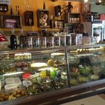 The food counter