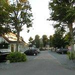 Einfahrt zum Hof Krähenberg