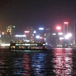 HK Island Skyline at night