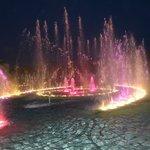 Fountain show each evening