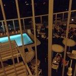 Pool view room