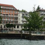 Hotel with dock