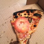This is the pizza we received from Embers!! It was terrible!! Don't waste your money!!