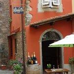 Vakre Montecatini Alto - her er det mange fine Restauranter