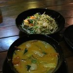 Tom Yum Veg and Sprouts and Tofu...