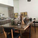 Salle à petit déjeuner, thé. café etc...