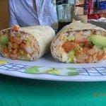 camarón burrito