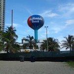 At the Hallandale  Beach