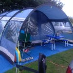 Our 8x4 tent